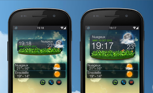 UCCW Widget weather by marcarnal
