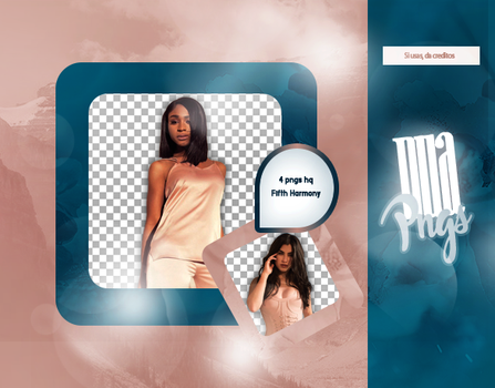 PACK PNG 908 // FIFTH HARMONY by DUA-PNGS