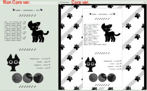 Black Cat | F2U Core/Non Core Code by qhost-town