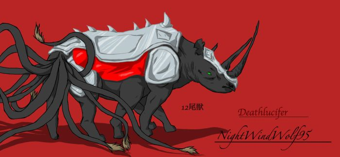 12 Tailed Bijuu by nightwindwolf95