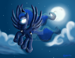 Moonlit Lullaby by Nedemai