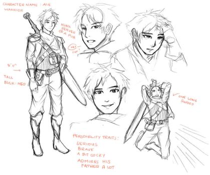 Character Design: Ace by YuRRa