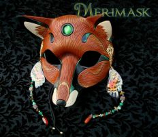 Fairy Fox Mask #1 by merimask
