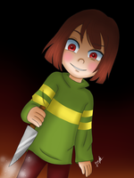 Chara [Undertale] by Jany-chan17