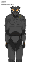 Fallout 2 : Enclave Advanced power armor by Milosh--Andrich
