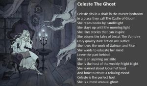 Celeste The Ghost by demonrobber