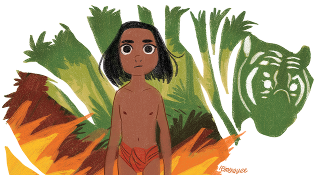 The Jungle Book by reimena