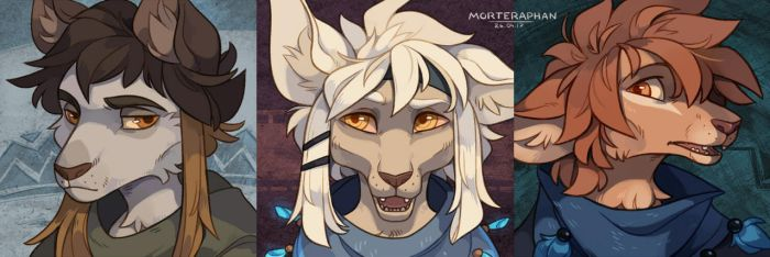 [Icon-commission #10-11-12] by morteraphan
