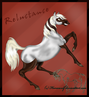 Reluctance by horsewolf