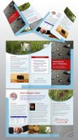 Brochure 6 page DL by egdesign01