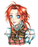 Colouring - Esther in Londinium by Shu-Maat