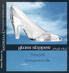 UNRESTRICTED - Glass Slipper .PNG by frozenstocks