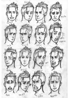 16 expression Dwight by Nee-k