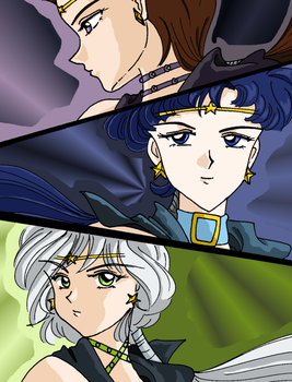 Sailor Starlights by seiyaodango