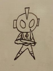Whiteboard Shenanigans - 12) Ultraman by CyberPFalcon