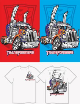 transformers cartoon shirts by jaimevalle