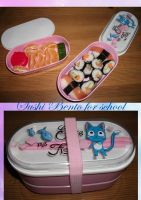 Sushi Bento in Happy Box by weisewoelfin