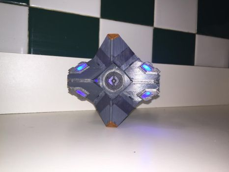 3D printed Ghost shell by T33zac