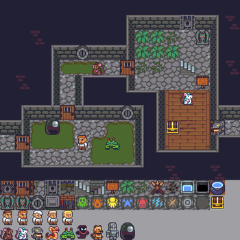 Repixelled Dungeon Mockup by DragonDePlatino