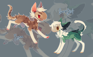 Fishling auction ~ old fishlings! [OPEN!] by vilhoadopts
