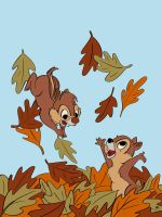 Chip n' Dale by MCRE1201