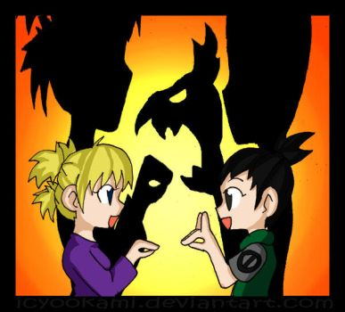 Shadow Puppets by icyookami