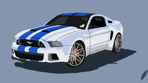 Ford Shelby Mustang by FickleMyTancy