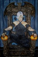 Mab Enthroned by JLDragonfly