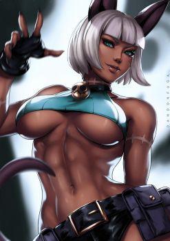 Ms. Fortune (Skullgirls) by dandonfuga
