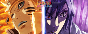 Naruto 696 - Naruto Vs Sasuke + Video by HikariNoGiri