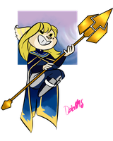 Star Mom Has A Kickass Spear by TheDexterminator