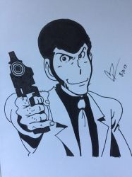 Lupin The Third by ClarkRankins