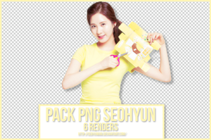 PACK PNG SEOHYUN by CeByun688