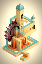 Monument Valley Stage 2 by HomoMilch