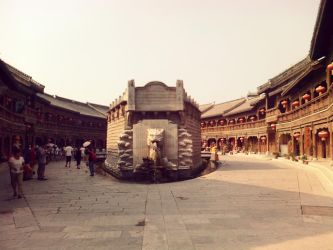 the ancient town of Taierzhuang by shaoshun