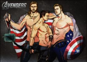 THE AVENGERS by SeanHe