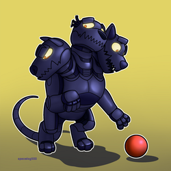 Robo Cerberus by SpaceDog500