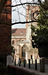 St Albans Cathedral . by 999999999a