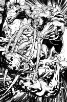 Swampthing 18 003 by YanickPaquette