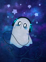 Napstablook by Tarulimint