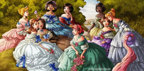Princess Tea Party by HollyBell