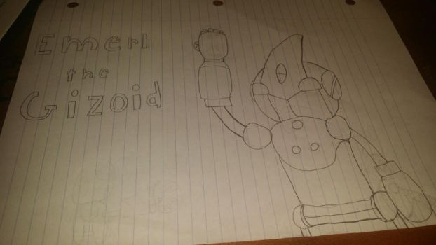 Emerl the Gizoid  by EspioTheNinjaBoss