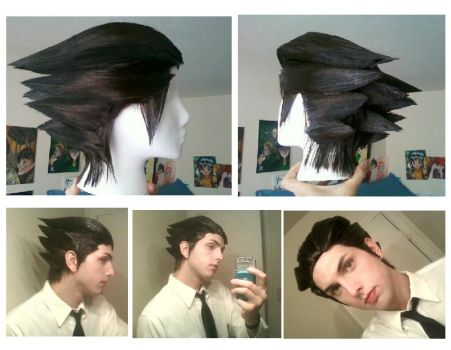 Commission: Phoenix Wright wig by score6
