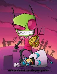 InvaderZim by The-Great-Geraldo