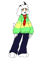 DemiTale: Asriel by Crudaka
