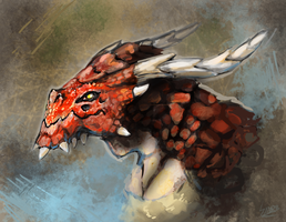 Red Dragon by Minionslayer