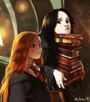 Lily and Severus by Sbi96