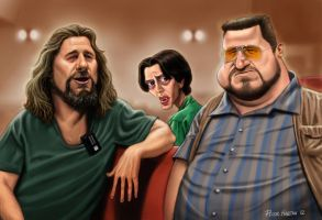The Big Lebowski _Colour by Habjan81
