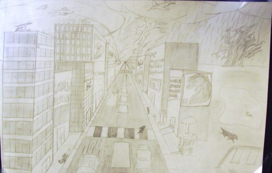 My Chaotic City by Crystice