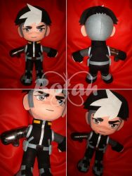 Shiro plush version by Momoiro-Botan